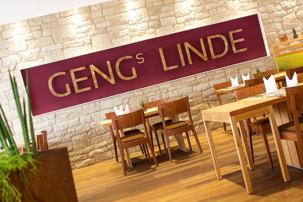 Geng's Linde - Innenansicht
