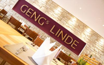 Geng's Linde - Innenasicht Restaurant