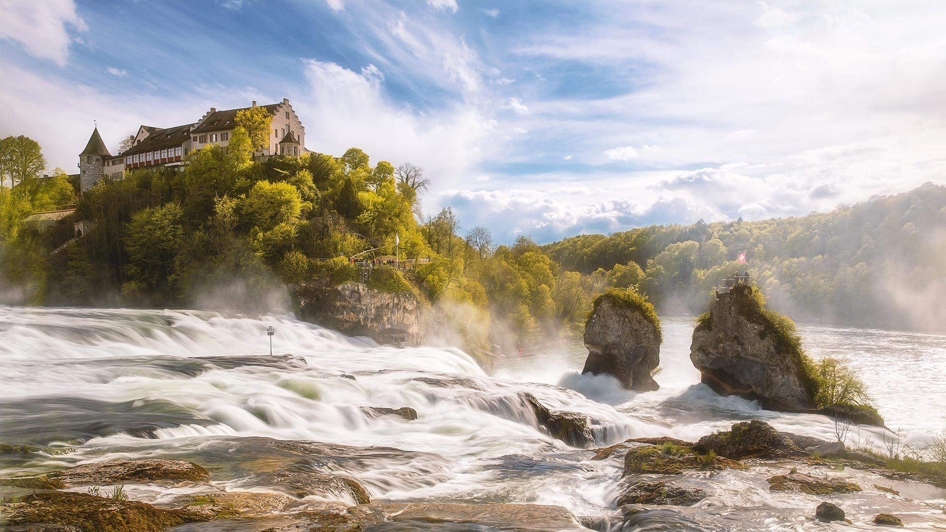 Geng's Linde Ausflugsziele Rheinfall - Foto: Dane Vetter